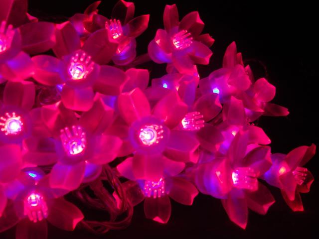 Светильники в саду. Светодиодное освещение