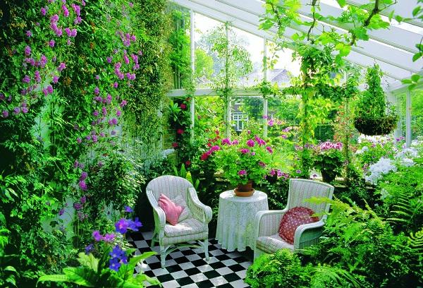 Зимний сад своими руками фото