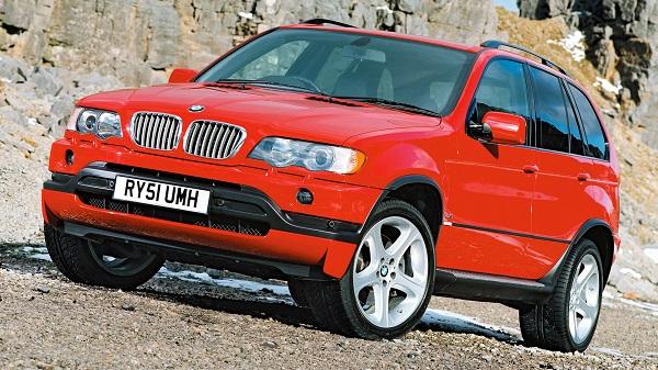 Кроссовер BMW X5 3