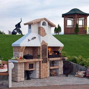 Пошаговое строительство барбекю с казаном фото готовить барбекю гриль